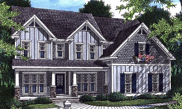 Cottage House Plan 80215 Elevation