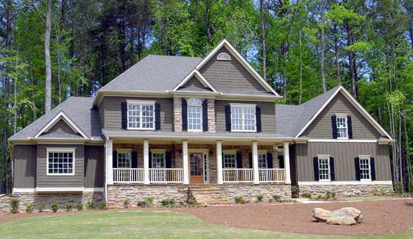Southern House Plan 80223 Elevation