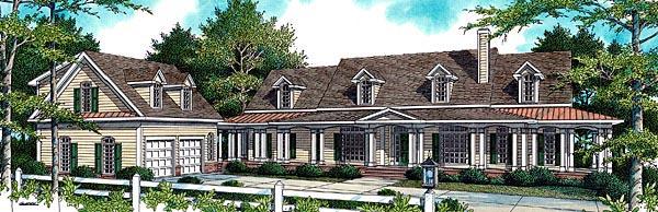Farmhouse House Plan 80224 Elevation