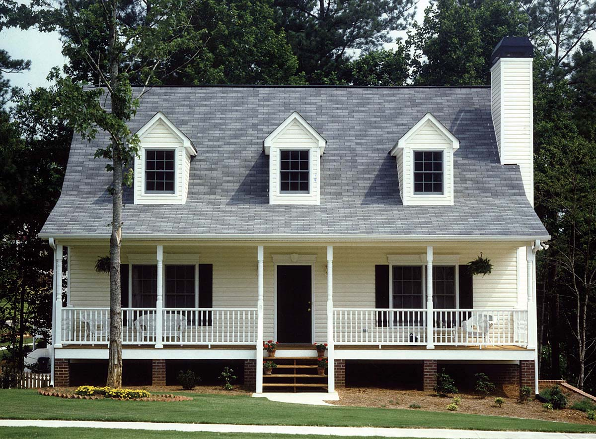 Country Farmhouse Southern House Plan 80254 Elevation