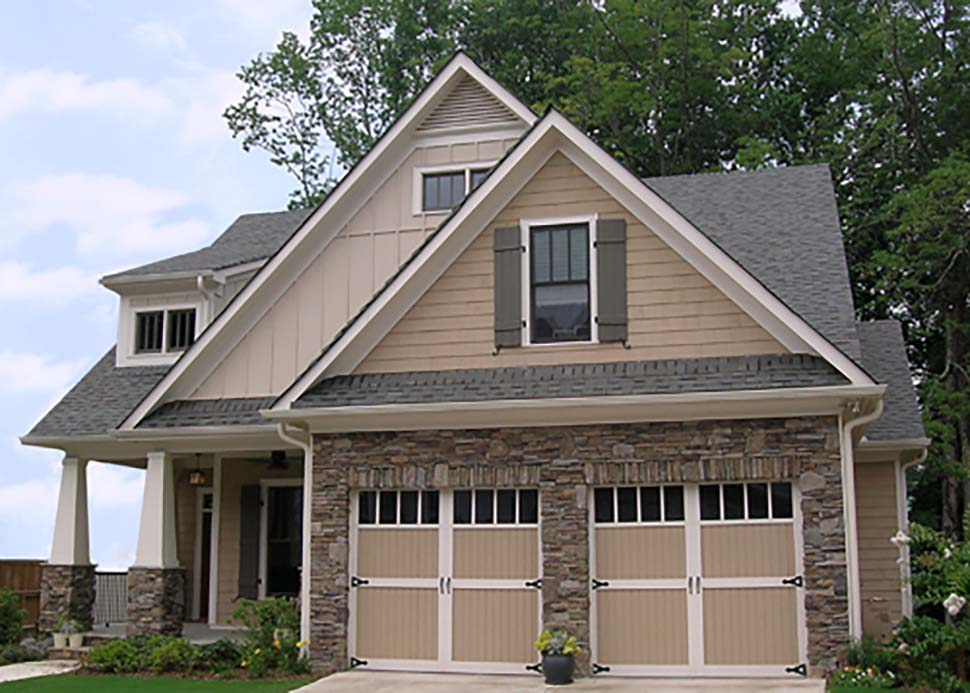 Bungalow, Cottage, Craftsman, Narrow Lot House Plan 80260 with 4 Beds, 4 Baths, 2 Car Garage Picture 7