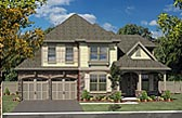 Plan Number 80305 - 2603 Square Feet