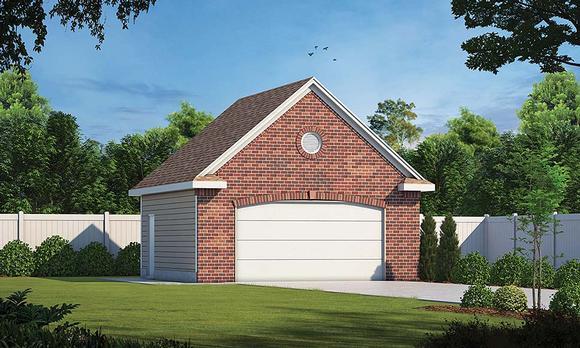 Garage Plan 80439