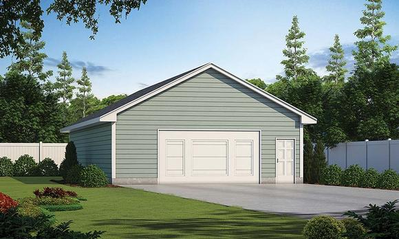 Garage Plan 80440