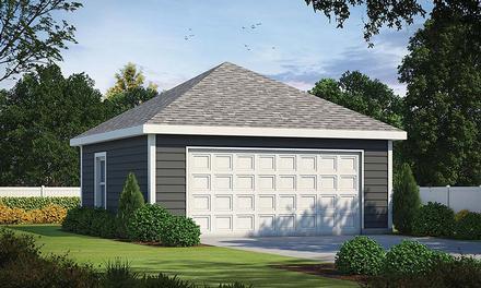 Garage Plan 80448