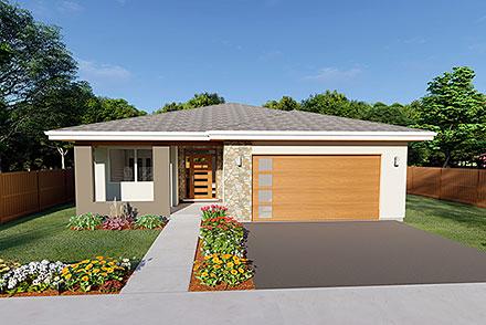 House Plan 80514