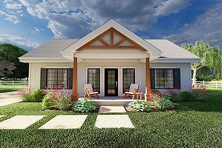 House Plan 80523