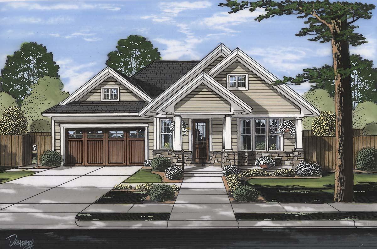 House Plan 80607