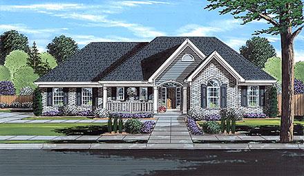 House Plan 80613