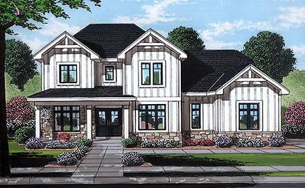 House Plan 80614