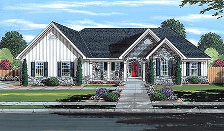 House Plan 80615
