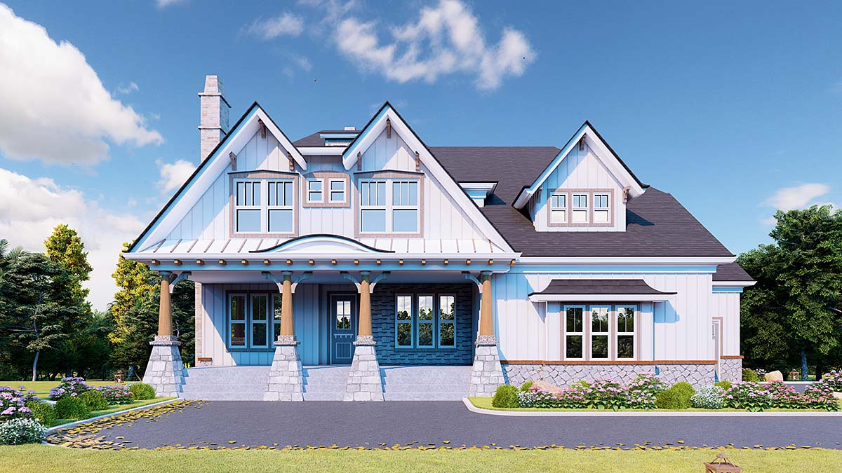 House Plan 80721