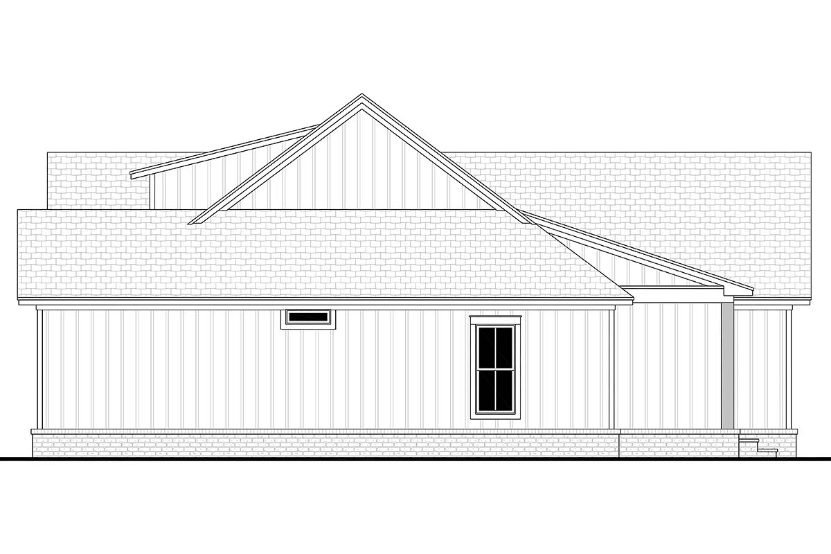 Cottage, Country, Farmhouse House Plan 80802 with 3 Beds, 2 Baths, 2 Car Garage Picture 1
