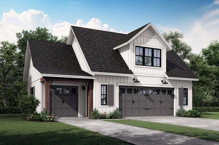 Garage Plan 80809