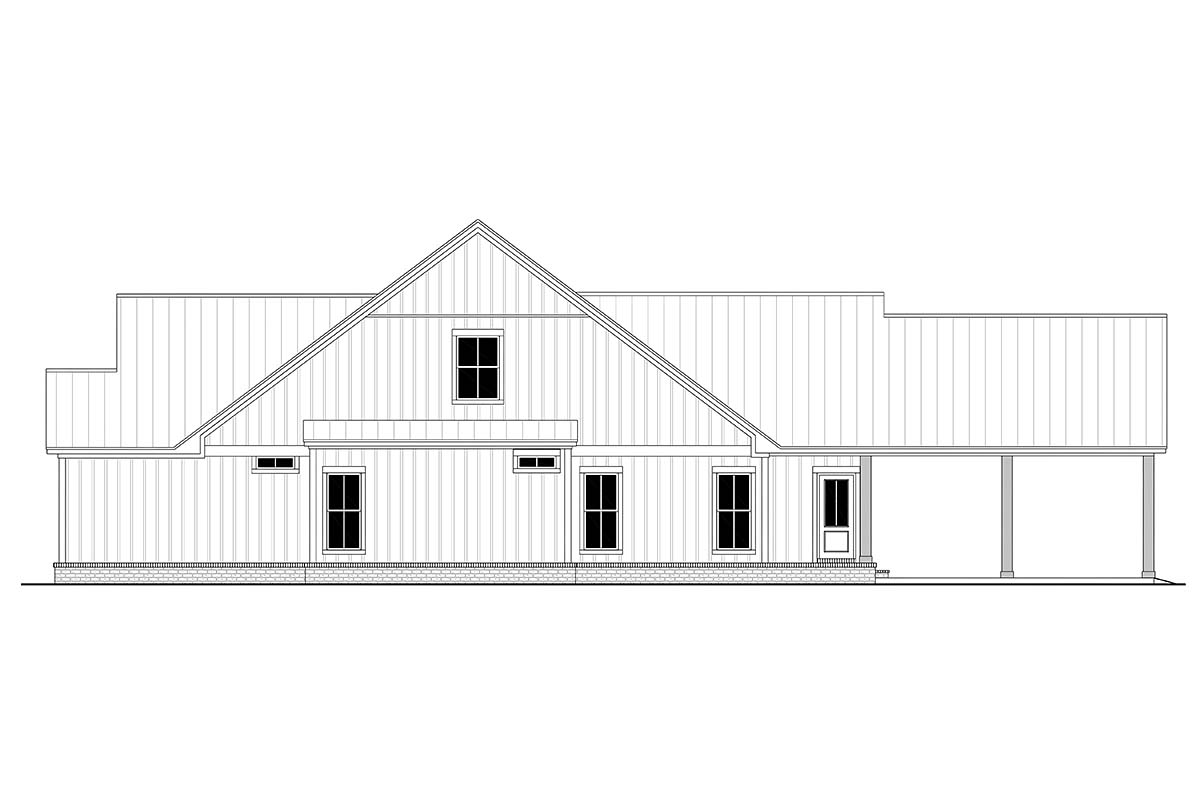 Country, Farmhouse, Traditional House Plan 80815 with 4 Beds, 4 Baths, 2 Car Garage Picture 1