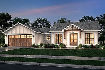 House Plan 80818