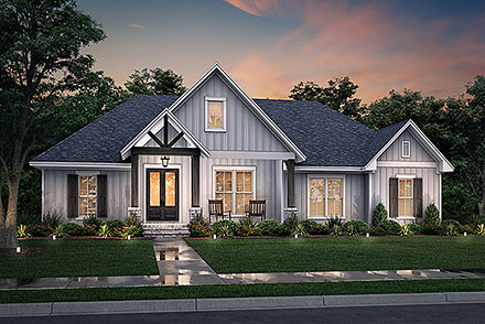 House Plan 80827