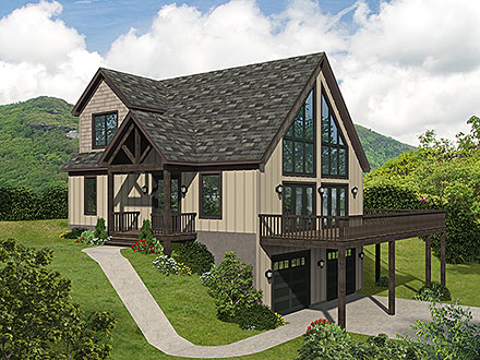 House Plan 80906