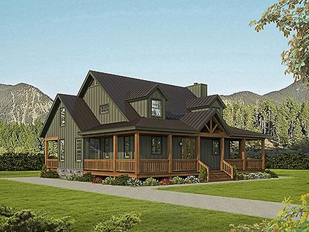 House Plan 80922