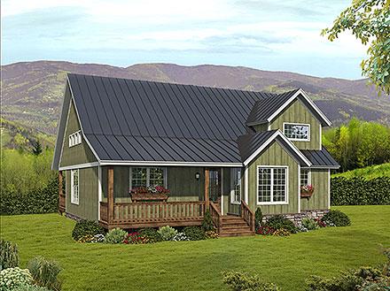 House Plan 80923