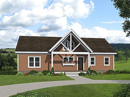House Plan 80927