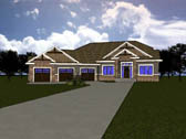 Plan Number 81121 - 3208 Square Feet