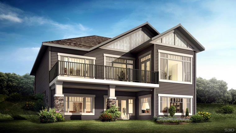 Bungalow Elevation Plan : Small bungalow plan with elevation joy studio design