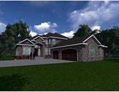 Plan Number 81150 - 3888 Square Feet