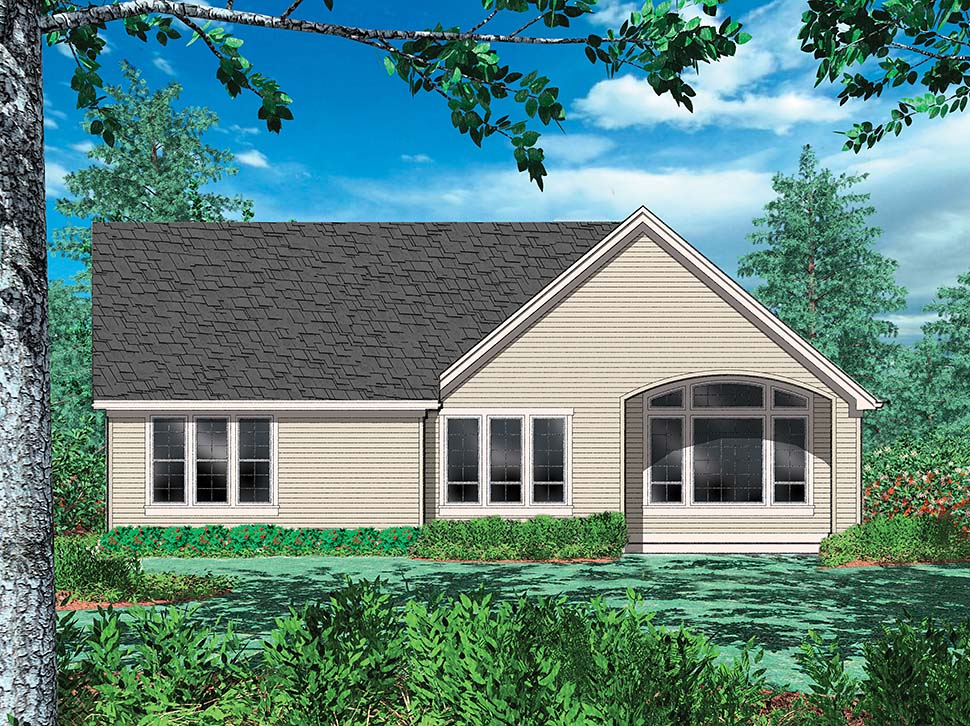 Cottage, Craftsman, French Country, Traditional House Plan 81202 with 3 Beds, 3 Baths, 2 Car Garage Picture 12