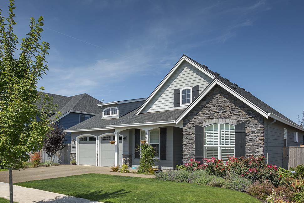 Cottage, Craftsman, French Country, Traditional House Plan 81202 with 3 Beds, 3 Baths, 2 Car Garage Picture 4