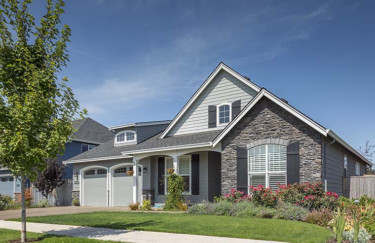 Cottage, Craftsman, French Country, Traditional House Plan 81202 with 3 Beds, 3 Baths, 2 Car Garage Picture 5