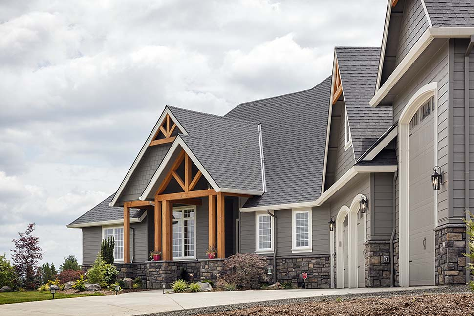 Country, Craftsman Plan with 2233 Sq. Ft., 3 Bedrooms, 3 Bathrooms, 2 Car Garage Picture 5