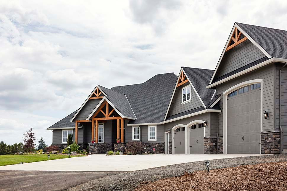 Country, Craftsman Plan with 2233 Sq. Ft., 3 Bedrooms, 3 Bathrooms, 2 Car Garage Picture 7