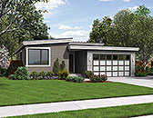Plan Number 81222 - 1613 Square Feet