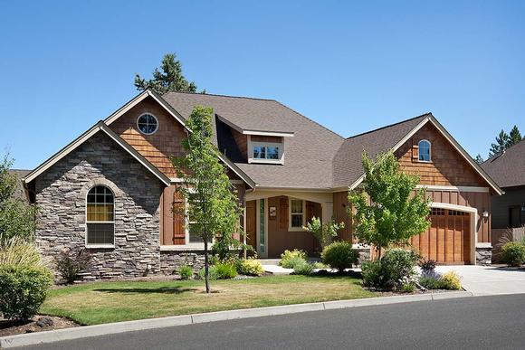 Bungalow, Craftsman House Plan 81227 with 3 Beds, 2 Baths, 3 Car Garage Elevation