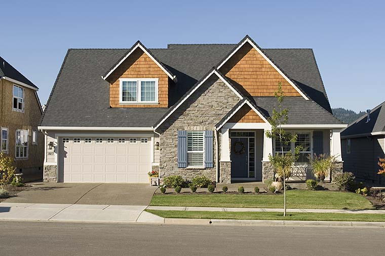 Bungalow, Craftsman House Plan 81232 with 3 Beds, 3 Baths, 2 Car Garage Picture 5