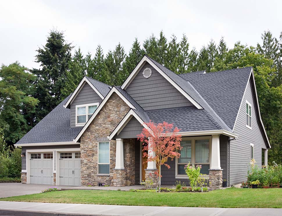 Bungalow, Craftsman House Plan 81232 with 3 Beds, 3 Baths, 2 Car Garage Picture 6