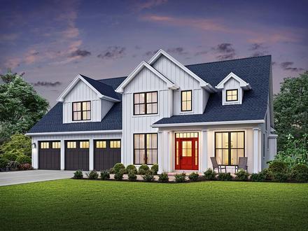House Plan 81244