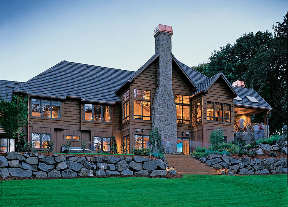 Craftsman, Tuscan House Plan 81271 with 4 Beds, 5 Baths, 4 Car Garage Picture 3