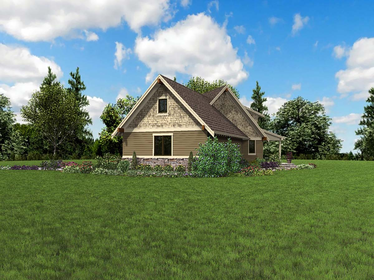Bungalow, Craftsman, Tuscan House Plan 81278 with 3 Beds, 3 Baths, 2 Car Garage Picture 1