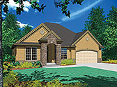 Plan Number 81295 - 1580 Square Feet