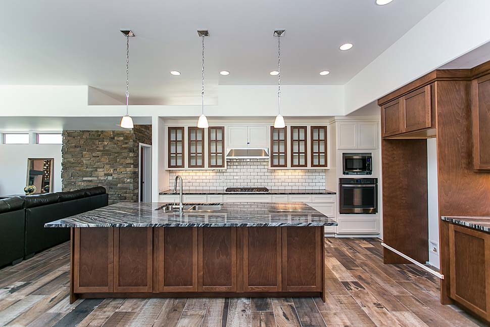 Contemporary, Modern, Prairie House Plan 81298 with 3 Beds, 3 Baths, 2 Car Garage Picture 13