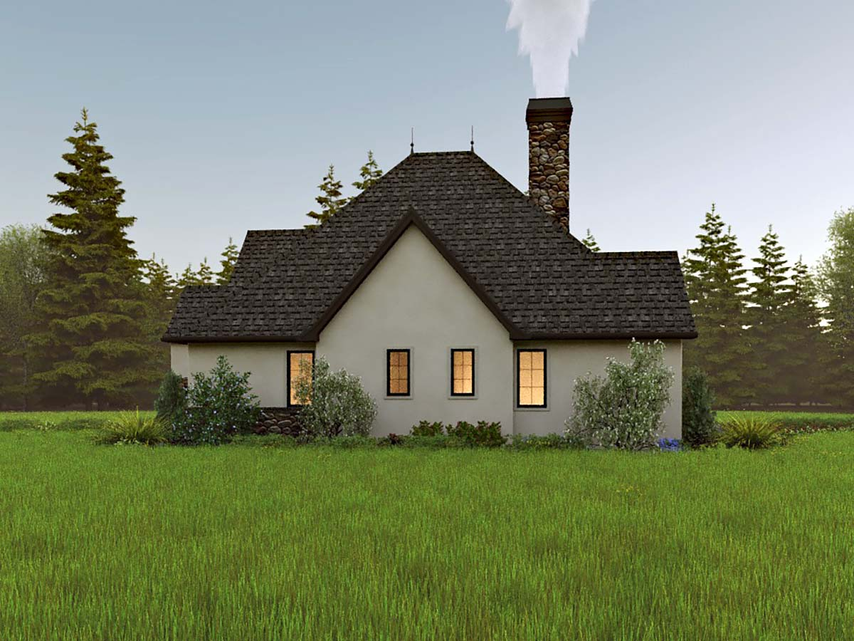 Cottage, European, Traditional House Plan 81309 with 2 Beds, 2 Baths, 2 Car Garage Picture 1