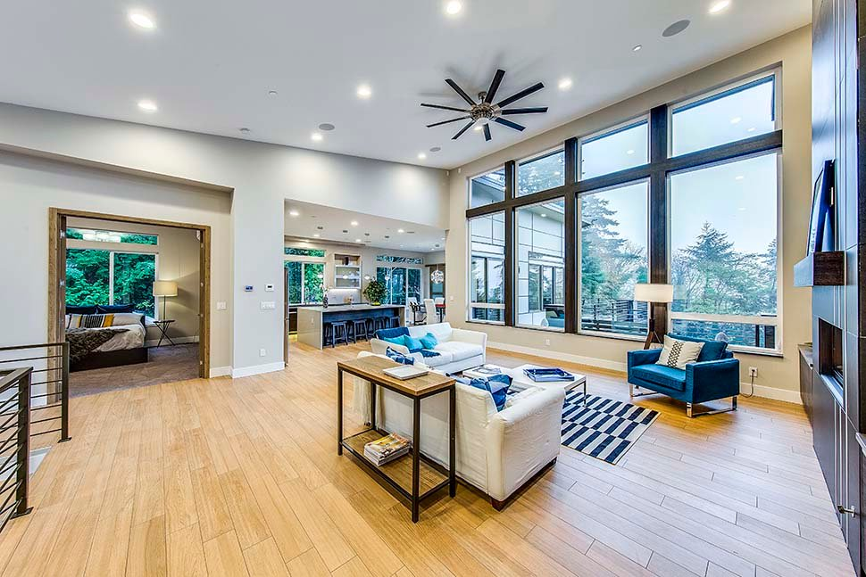 Contemporary, Modern House Plan 81911 with 3 Beds, 4 Baths, 3 Car Garage Picture 7