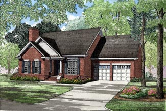 Ranch House Plan 82012 Elevation