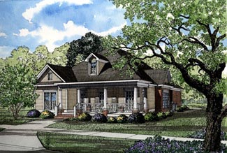Country House Plan 82019 Elevation