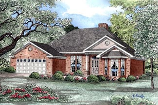 Traditional House Plan 82038 Elevation
