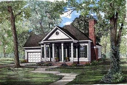 House Plan 82040