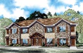 Plan Number 82063 - 4160 Square Feet