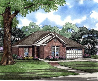 Traditional House Plan 82069 Elevation